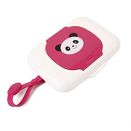 TOPmountain Cute Baby Travel Wipe Case Child Wet Wipes Box Changing Dispenser Storage Holder Napkin Box Baby Kids Wipes Storage Case