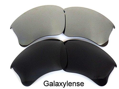 pour ou et femmes Noir Galaxylense remplacement XLJ Lentilles Oakley hommes de Gris Flak UqOpYw