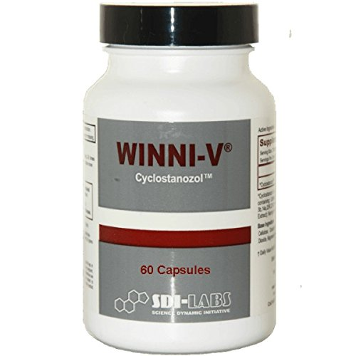 Winni V -Fat Burner, Stamina, Focus, Cutting Agent (60 Capsules) by SDI Labs