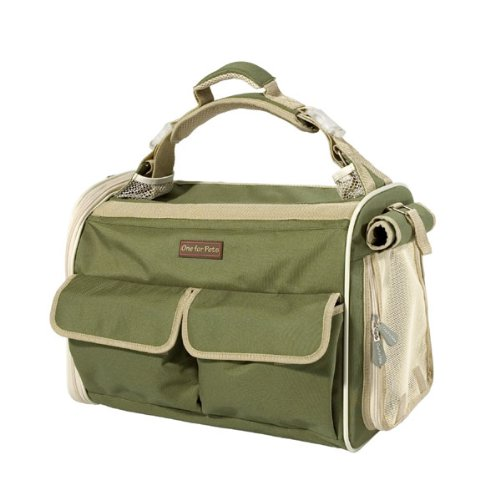 One for Pets The Kensington Bag, Green by One for Pets (Image #2)