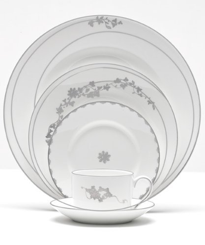Vera Wang China Vera Fleurs Rim Soup Bowls