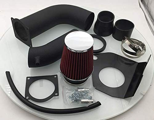 - AJP Distributors High Performance Cold Air Intake CAI Induction System Kit Heat Shield Piping Pipe + Filter For 1999 2000 2001 2002 2003 2004 99 00 01 02 03 04 Ford Mustang 3.8L V6 (Black)