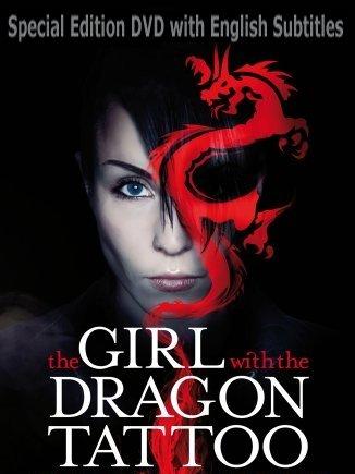 Amazoncom The Girl With The Dragon Tattoo Man Som Hatar