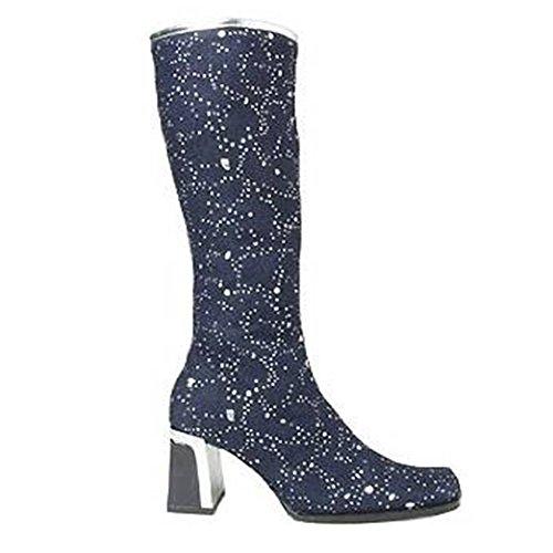 Jeansstiefel Silver Heel Boots Dark Blue BUrdoyzVx