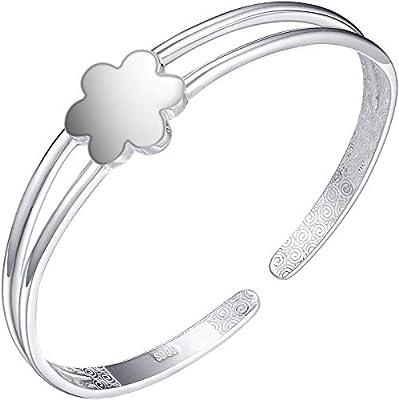 bracelet argent brillant