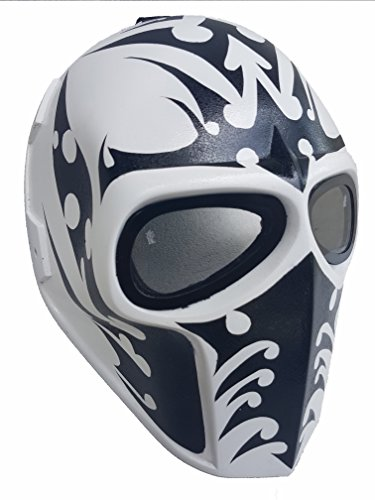 Mandalorian Costume Pattern (Invader King ® Army of Two Airsoft Mask Protective Gear Outdoor Sport Fancy Party Ghost Masks Bb Gun)