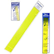 "Add-a-Quarter Ruler Bundle of 3 Sizes: 1"" by 6""; 1.5"" by 12"", and; 2.5"" by 18"""