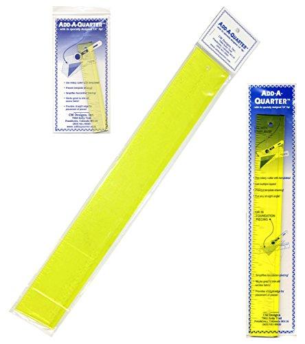Quarter Ruler - Add-a-Quarter Ruler Bundle of 3 Sizes: 1