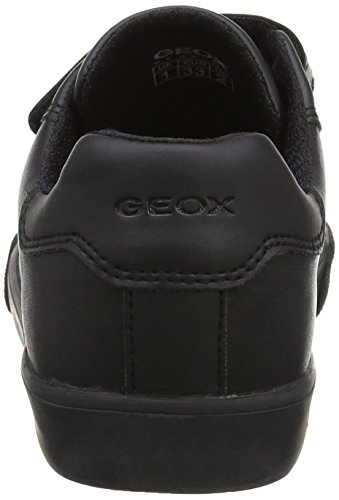 Geox Para black Jr Negro Zapatillas Boy Kilwi Niños rrwPfq