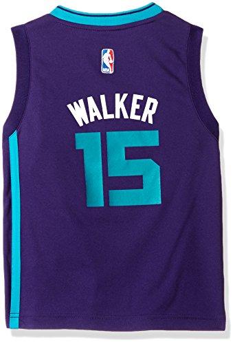 OuterStuff NBA Boys 4-7 Charlotte HorBrooklyn Nets Walker Away Replica Jersey-Ravens Purple-S(4)