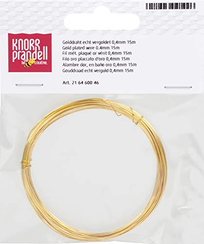 Amazon.de: Knorr Prandell 216465714 Silberdraht mit Kupferkern ...