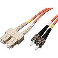 Tripp Lite Duplex Multimode 62.5/125 Fiber Patch Cable (SC/ST), 1M (3-ft.)(N304-003)