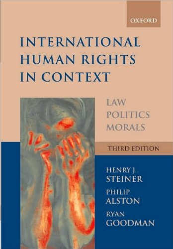 International Human Rights in Context (text only) 3rd (Third) edition by P. Alston,R. Goodman,H. J. Steiner