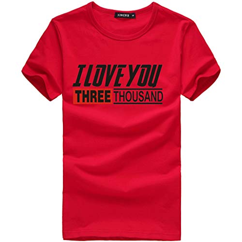 ✨LYN StarDad I Love You 3136 Iron-Man Avengerss T-Shirt Fathers Mothers Day Summer Fashion Casual Men Tops Blouse]()
