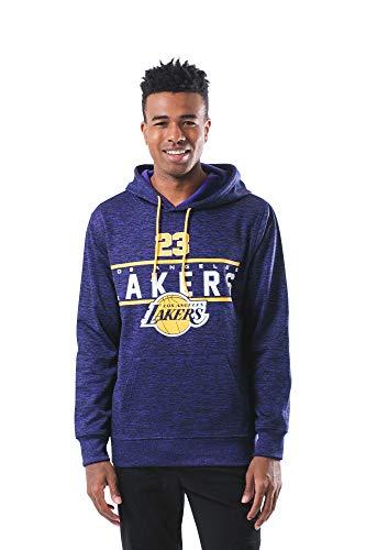 Ultra Game NBA Men's Players Soft Fleece Hoodie Sweatshirt