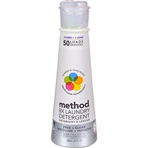 Method 01126 20 Oz Free & Clear Laundry Detergent by Method