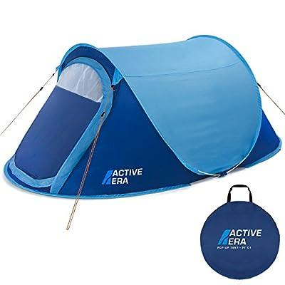 Frostfire Moontent Ultra 2 Person Popup Tent with Waterproof Flysheet /…