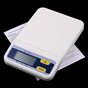 Rosbane(TM) 3Kg/0.5g Digital Electronic Food Kitchen Weight Scale Kg Oz Lb with retail box