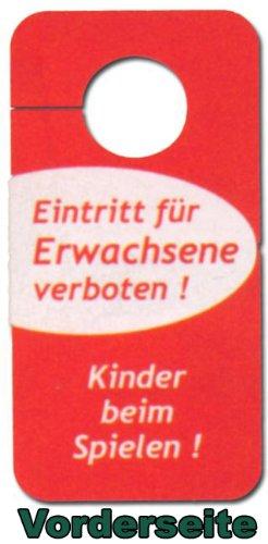 Cartel - entrada para Adultos Niños prohibido encienden al ...