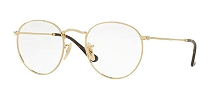 2abedfc49e2 Ray Ban Rx3447v Round Metal Eyeglasses Review
