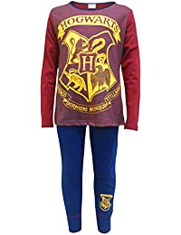 Harry Potter Hogworts Big Girls Pajama Set 2-Piece Pajamas