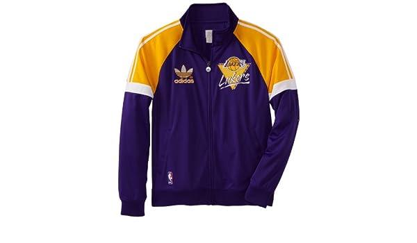 adidas Los Angeles Lakers Originals NBA Court Series Retro Track ...