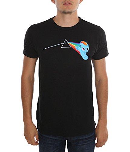 Rainbow Dash Dark Side T-Shirt-XX-Large (Brony My Little Pony Shirt)