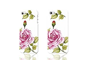 Chinese Rose 3D Rough Case For Iphone 4/4S Cover Case Skin, fashion design image custom Case For Iphone 4/4S Cover , durable Case For Iphone 4/4S Cover hard 3D Case For Iphone 4/4S Cover, Case New Design By Codystore