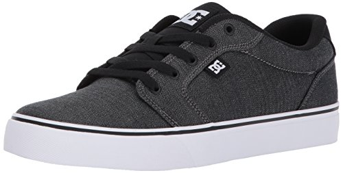 DC Men's Anvil TX SE, Black/Dark Grey/White, 11 D US