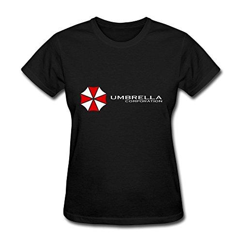 HUBA Women's Tshirts Resident Evil The Umbrella Chronicles Black Size XXL