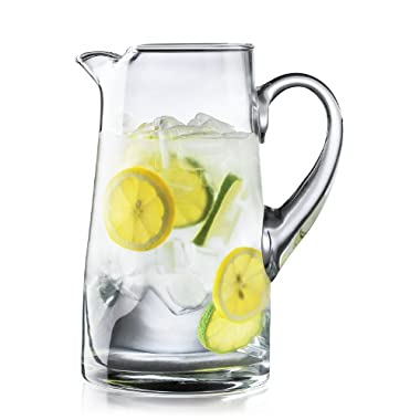 Crisa Impressions by Libbey 80 Ounce Clear Glass Pitcher