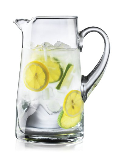 Make a Mother's Day cocktail recipe in a Crisa Impressions by Libbey 80 Ounce Clear Glass Pitcher