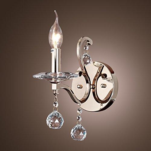 Chrome Lava Lamp (Lightinthebox Crystal Candle Wall Lights Modern E12/E14 Metal Max 60W Lamp)
