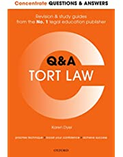 Concentrate Questions and Answers Tort Law: Law Q&A Revision and Study Guide (Concentrate Questions & Answers)