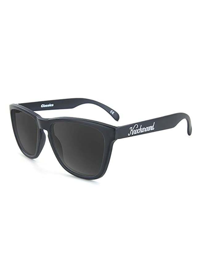 Knockaround Gafas de sol polarizadas de clásicos Negro/humo: Amazon.es: Ropa y accesorios