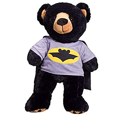 Bat Bear T-Shirt With Cape Teddy Bear Clothes Fits Most 8
