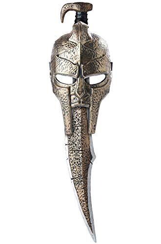 California Costumes Spartan Mask & Sword Adult Costume, -Gold, One Size ()