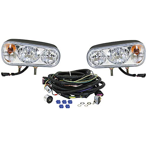 Universal Snow Plow Light Kit for Boss Western Meyer Blizzard Curtis Replaces 1311100