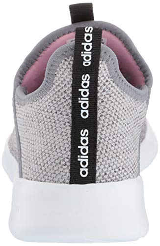 adidas Women's Cloudfoam Pure, Grey/True Pink, 5 M US by adidas (Image #2)