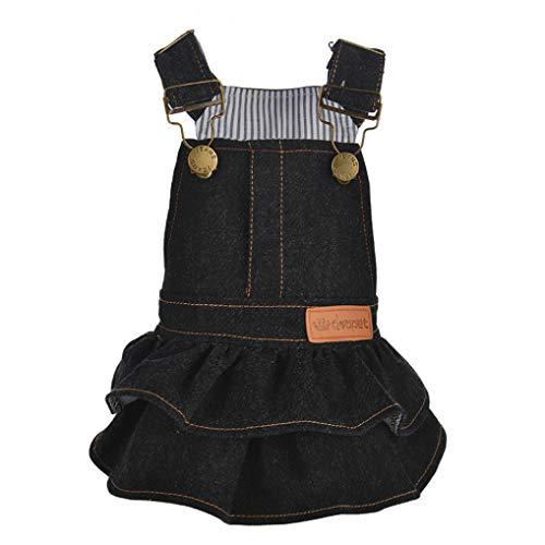 Dcc Toddler Costumes - YOTATO Spring/Autumn Polyester Color Denim Pet