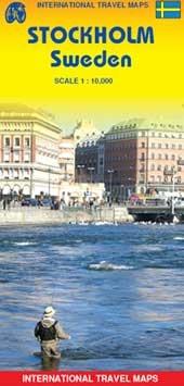Stockholm (Sweden) 1:10,000 Street Map (International Travel Maps)
