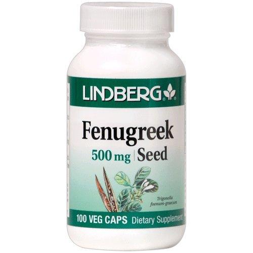 Fenugreek Seed 500 mg, Trigonella foenum-gracium, 100 Vegetarian ()
