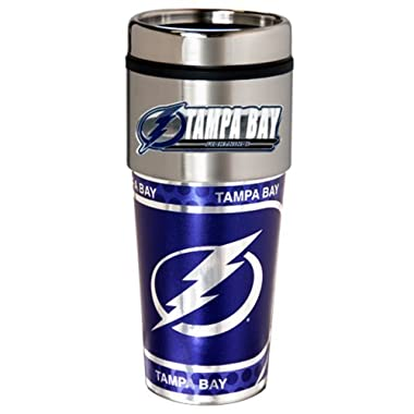NHL Tampa Bay Lightning Metallic Travel Tumbler,  16-Ounce