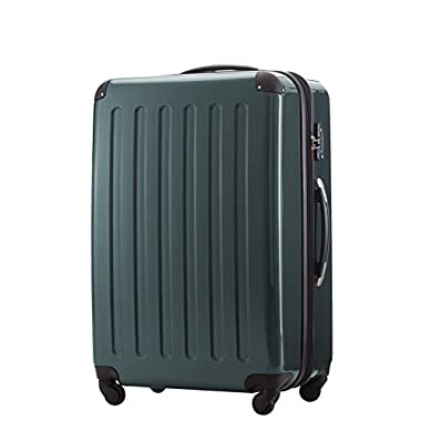 HAUPTSTADTKOFFER - Alex - Luggage Suitcase Hardside Spinner Trolley Expandable 28¡° TSA Darkgreen