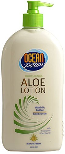 Ocean Potion After Sun Lotion With Aloe, 20.5 oz (Pack of 4)