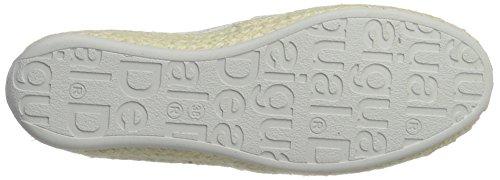 Desigual Women's Taormina White Lace 1 Low-Top Sneakers White (Blanco) T0D1BvZFrT