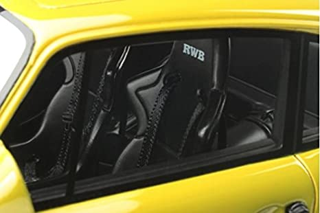 Amazon.com: Porsche 911 (930) RWB Metallic Yellow Limited Edition to 3000pcs 1/18 by GT Spirit GT120: Toys & Games