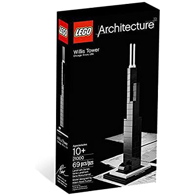 LEGO Architecture Willis Tower (21000): Toys & Games