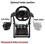 XOHYW Racing Steering Wheel Stand Shifter Mount Fit