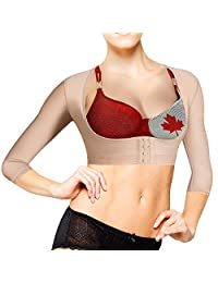 Lady Jeneva Upper Arm Shaper for Women | Posture Corrector with Arm Compression Sleeves